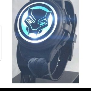 Black Panther Kid's Light Up Digital Watch with Op
